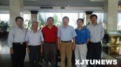 郑南宁校长会见奇虎360公司董事长、